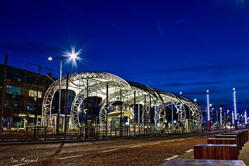tramhalte Nieuwpoort Stad
