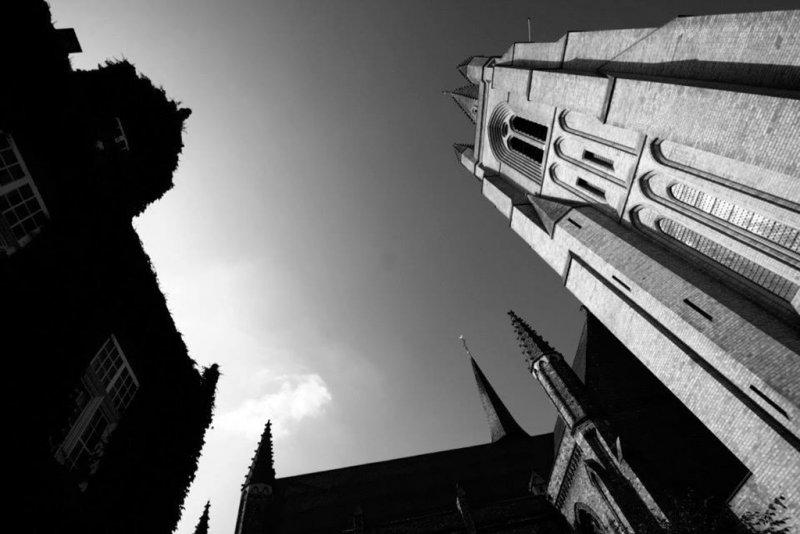 Nieuwpoort stad kerk